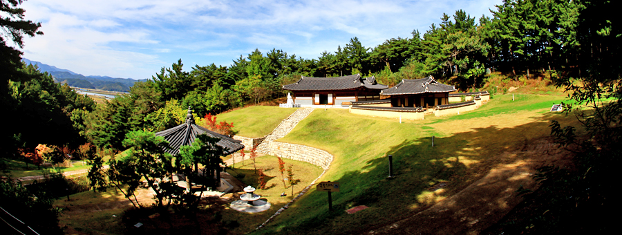 C course - Mokeun Lee Saek Memorial(Goesi-ri, Yeonghae-myeon)